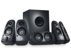 Logitech Z506 Speakers 75 Watts RMS 5.1 Surround Sound